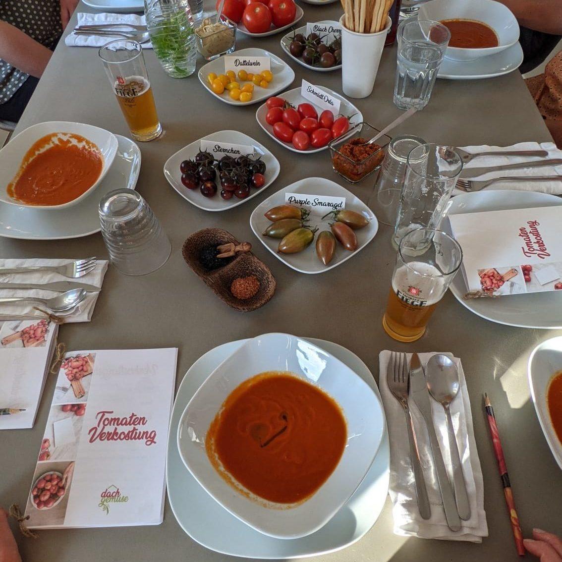 Tomatenverkostung 2021